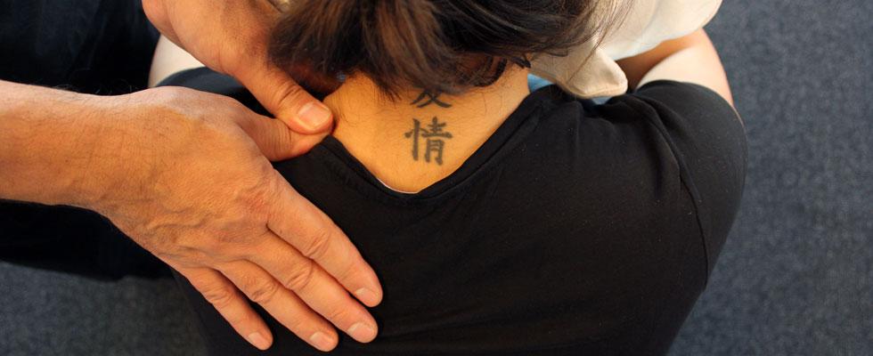 Namikoshi Shiatsu massage